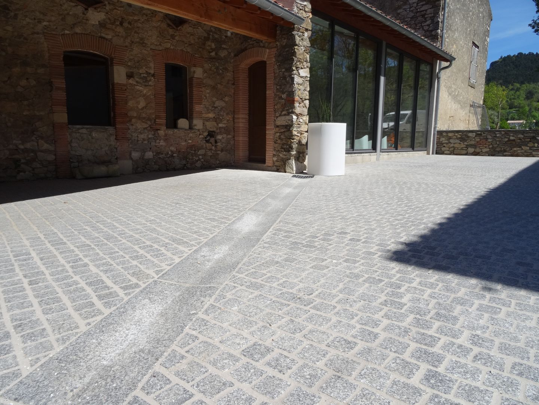 bollard pavage granit sidobre