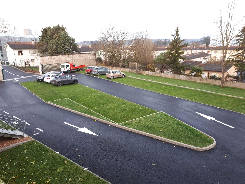 bollard paysagiste parking drainant ecovegetal