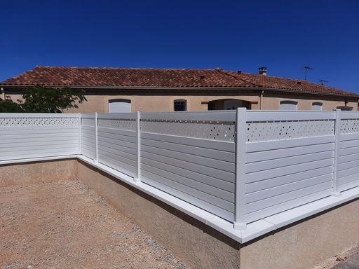 clôture sur muret paysagiste saix