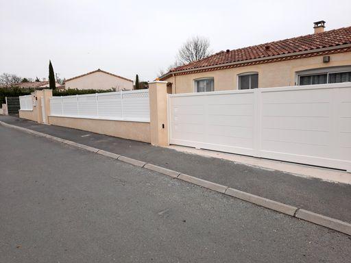 Serge Bollard clôture portail