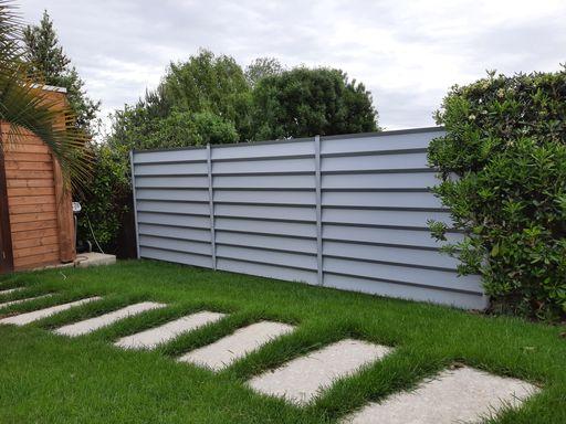paysagiste saix pavés clôture